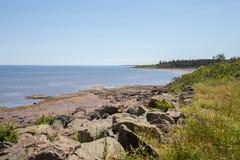 New-Brunswick Coastline Royalty Free Stock Photography