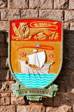New Brunswick coat of Arms Stock Image