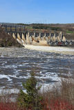 New Brunswick dam Stock Photos