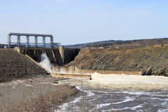 New Brunswick dam Stock Images