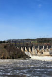 New Brunswick dam Stock Image