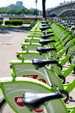 New Budapest Bike Hire Stock Images