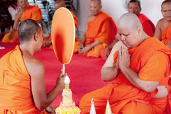New Buddhist monk Stock Photos