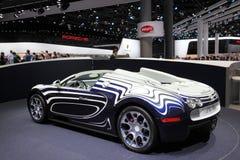 New Bugatti Veyron L ' Or Blanc Royalty Free Stock Photography