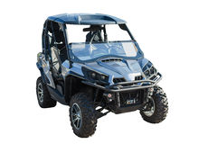 New buggy car isolated over white with clipping path Stock Images