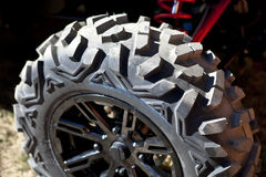 New buggy car tyre Stock Image