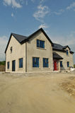 New build concrete house Royalty Free Stock Photo