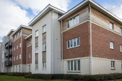 New build home. New build housing in British town Royalty Free Stock Image