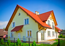 New build house Royalty Free Stock Image