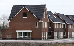 New build houses in holland Royalty Free Stock Photo