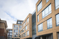 New build offices. Newly built offices in town centre, UK Royalty Free Stock Photography