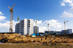 New building  . Belarus Royalty Free Stock Photo