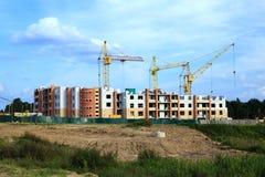 New building  . Belarus Stock Photos