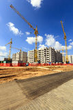 New building ,  Belarus Royalty Free Stock Photo