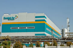 New building chemical company Sealed air Stock Image