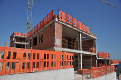 New Building Construction Royalty Free Stock Images