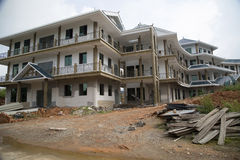 New building  construction Royalty Free Stock Photo