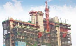 New Building Construction. Stock Photo