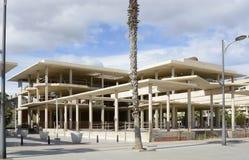 New building construction on Malvarossa seafront. Valencia. Spai Royalty Free Stock Photography