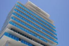 New building construction Miami Beach FL Stock Images