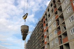 New building construction site Royalty Free Stock Images