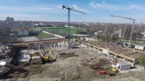 New building construction site industry