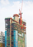 New Building Construction. Royalty Free Stock Image