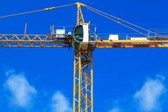 New building crane Stock Photo
