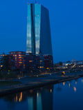 The new building of the European Central Bank Headquarters, ECB, Stock Photography