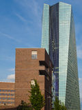 The new building of the European Central Bank Headquarters, ECB, Stock Images