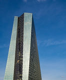 The new building of the European Central Bank Headquarters, ECB, Royalty Free Stock Images