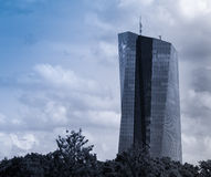 New building of the European Central Bank Headquarters, Frankfur Royalty Free Stock Photos