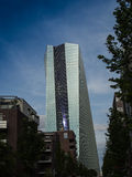 The new building of the European Central Bank Headquarters, Frankfurt Stock Photography