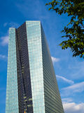 The new building of the European Central Bank Headquarters, Frankfurt Royalty Free Stock Photography