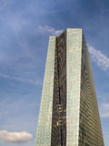The new building of the European Central Bank Headquarters, Frankfurt Stock Image