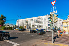 The new building of the General Staff of Russian A Royalty Free Stock Image