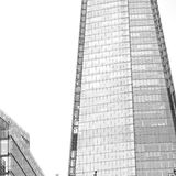 In  the new   building london skyscraper      financial distric Royalty Free Stock Photos