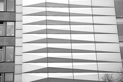 In  the new   building london skyscraper      financial distric Royalty Free Stock Images