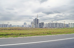 New building in Minsk Stock Images