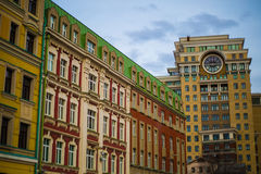 New building in Moscow. Color Royalty Free Stock Photography
