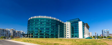 New building of National Libraty of Romania Royalty Free Stock Photos
