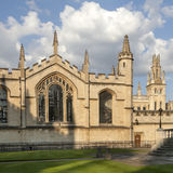 The New Building of Oxford Magdalen College, Royalty Free Stock Photos