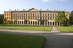 The New Building of Oxford Magdalen College, Royalty Free Stock Photo