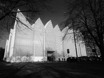 New building of the Philharmonic in Szczecin Royalty Free Stock Images