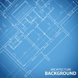 New building plan background Royalty Free Stock Image