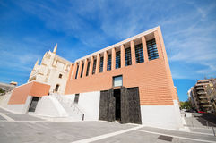 New building of the prado museum in Madrid, Spain. Royalty Free Stock Images