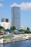 New building in Saratov city, Russia Stock Photos