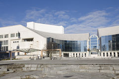 The new building of Slovak National Theater Royalty Free Stock Photography