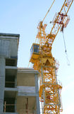 New building under construction. With crane Royalty Free Stock Images
