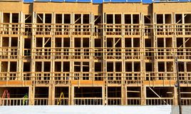 New building under construction Royalty Free Stock Photos